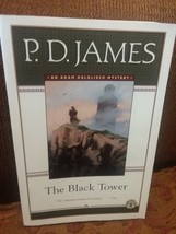 The Black Tower P D James An Adam Dalgleish Mystery Reading Group Guide  - $7.99