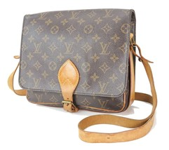 Authentic LOUIS VUITTON Cartouchiere GM Monogram Shoulder Bag Purse #33320 - $359.00