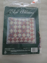 JCA Elsa Williams TIPPERARY TRIANGLES IN PASTEL Needlepoint Kit #06331 - $14.85