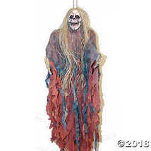 Tattered Ghoul with Hair Halloween Décor - $22.99