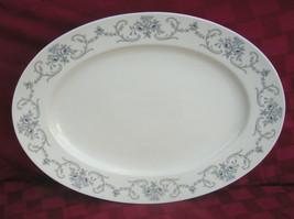 "Johann Haviland 14-3/4"" Oval Serving Platter Rhineland Pattern Bavaria G... - $29.69"