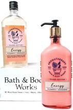 Bath & Body Works Energy Island Edition Aromatherapy Body Wash & Body Cream - $23.16