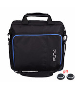 Black Multifunctional Travel Carry Case Carrying Bag For PlayStation4 PS4 - $22.99