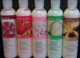 (5) Avon Naturals Assorted Body Lotion 8.4 fl. ... - $24.99