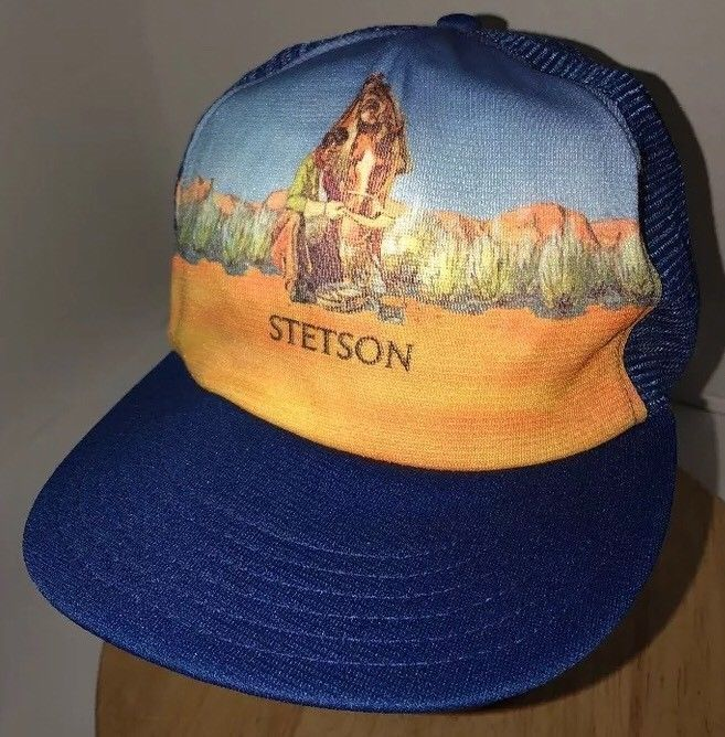 1503cbbd427b1 Vintage Stetson Cowboy Horse 70s Usa Union and 50 similar items