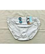 NWT 2pk Vanity Fair illumination Bikini Panty/Underwear-White -10/3X Style 18810 - $18.80