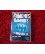 The Ramones Too Tough To Die Audio Cassette Made In Poland - $13.25