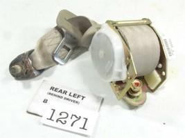 1998-2002 HONDA ACCORD 2DR REAR LEFT SEATBELT IVORY BROWN OEM 00ha2d - $49.80