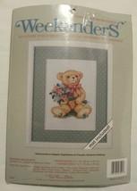 BEARING BOUQUETS No Count Cross Stitch Weekenders Kit Red Farm Studio De... - $13.47