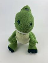 "Disney Toy Story Kohls Cares Plush T-Rex Green Dino Dinosaur Pixar 14"" Tall 2015 - $8.90"