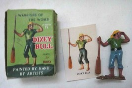 vintage WARRIORS OF THE WORLD marx toy DIXEY BULL PIRATE w/BOX + CARD - $67.95