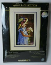 Dimensions Gold Collection My Little Sunshine Counted Cross Stitch Kit 3... - $34.65