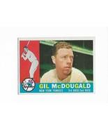 1960 Topps #247 Gil McDougald, New York Yankees - $3.60