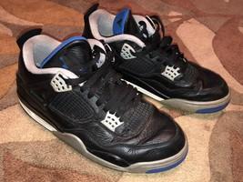 Mens Size 10.5 Nike Air Jordan Flight 4 Retro Black Motorsport Basketbal... - $94.05