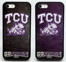 NEW TCU HORNED FROGS COLLEGE 2 FOR 1 PHONE CASE FOR iPHONE 7 6S 6 PLUS 5... - $14.97