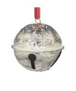 ELF BELL Embossed Metal Christmas Ornament - $24.00