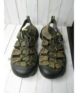Keen Mens SZ 11 M  Leather Sandals Waterproof Newport Bison Brown Trail ... - $39.59