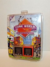Radica Cube World Series 4 Handheld Game Slam & Grinder 2007 New Sealed (h) - $59.39