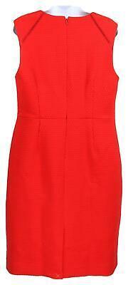 J Crew Women's Portfolio Sheath Dress /Suiting Career Work Red  12 F0791 image 4