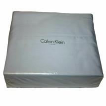 Calvin Klein 100% Combed Cotton Queen Sheet Set, Grey - $79.99
