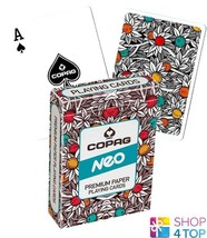 COPAG NEO NATURE POKER PLAYING CARDS DECK PAPER JUMBO INDEX NEW - $8.90