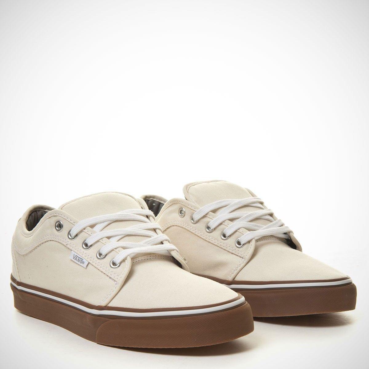 VANS Chukka Low White/Gum UltraCush Pro Skate Shoes MEN'S 7 WOMEN'S 8.5 image 2