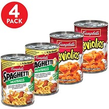 Campbell's SpaghettiOs and RavioliOs Canned Pasta, Easy Pasta Meal Varie... - $19.34