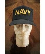 USN US NAVY ALL RANKS UTILITY WORK COVERALL UNIFORM BALLCAP BALL CAP HAT... - $18.80