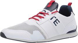 Lacoste Men's Premium Sport Menerva Elite 120 CMA Textile Sneakers Shoes image 11