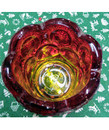 L.E.Smith Red Amberina Moon & Stars Toothpick Holder - $20.00
