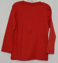 Blanks Boutique Boys Red Long Sleeve Cotton Shirt Size 2T image 2