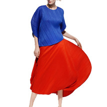 Women's Yoshino Stylish Pleat Blouse and Skirt. Each Sold Seperately (Pr... - $85.75+