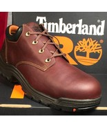 Timberland Shoes ALLOY EH SAFETY TOE POWERFIT BROWN OXFORT TITAN 47028 - $124.99