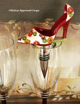 HIGH HEEL SHOE BOTTLE STOPPER – STEP RIGHT UP TO A UNIQUE WINE EXPERIENCE! - $19.95