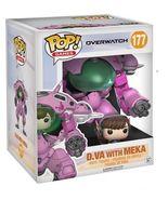 "Funko POP Games: Overwatch D.VA & Meka 6"" and Buddy Toy Figure [New] - $29.99"
