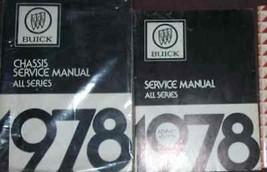 1978 Buick Lesabre Skyhawk Regal Riviera Skylark Service Repair Shop Manual Set - $98.60