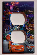 Cars Lightning McQueen Japan Light Switch Power outlet cover plate home decor image 2