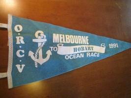 sailing yachting felt pennant Melbourne to Hobart Australia ocean race O... - $13.95