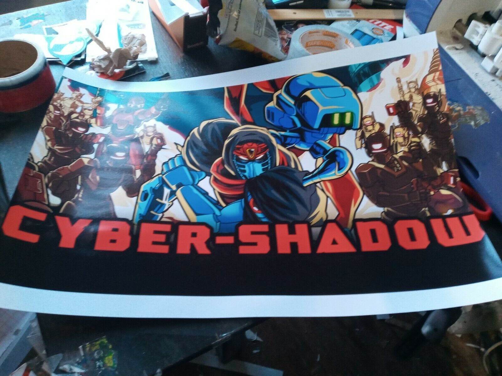 Primary image for cyber shadow nintendo switch poster