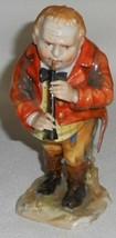 Great Detail! Capodi Monte Porcelain Figurine Man Playing Fife ITALIAN/EUROPEAN - $346.49