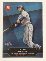 2011 Topps ToppsTown #TT30 Ryan Braun Milwaukee Brewers Baseball Card - $0.99