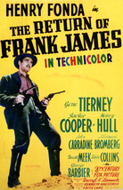 Henry Fonda in The Return of Frank James 16x20 Canvas Giclee - $69.99