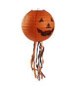 10 Pcs Halloween Pumpkin Paper Lantern 44cm Outdoor Props Party Supplies... - $34.55