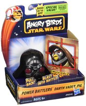Angry Birds Star Wars Power Battlers Darth Vader Pig Battler - $9.79