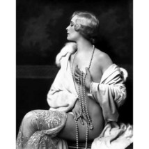Quality digital print of a vintage photograph -Ziegfeld Girl Poses with ... - $28.57