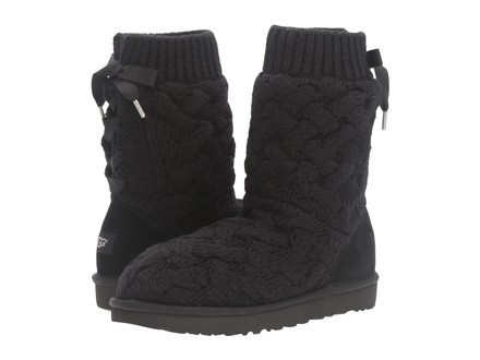 18062147bf9 UGG Australia Isla Knitted Black Boots 10 and 50 similar items