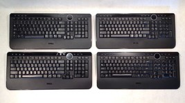 Lot of 4 - Dell Slim Wireless Multimedia Keyboard - Y-RBP-DEL4 M756C - $493,75 MXN