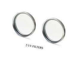 2X Uv Filters For Sony DCR-SR46 DCR-SR46E DCR-SR38 DCR-SR48E DCR-SR48 DCR-SR77E - $10.22