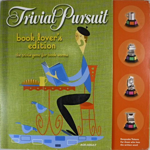Trivial pursuit book lovers edition trivia game for book worms | ebay.