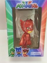 Disney PJ Masks Red Girl Owlette Holiday Christmas Ornament New Kurt Adler - $11.87